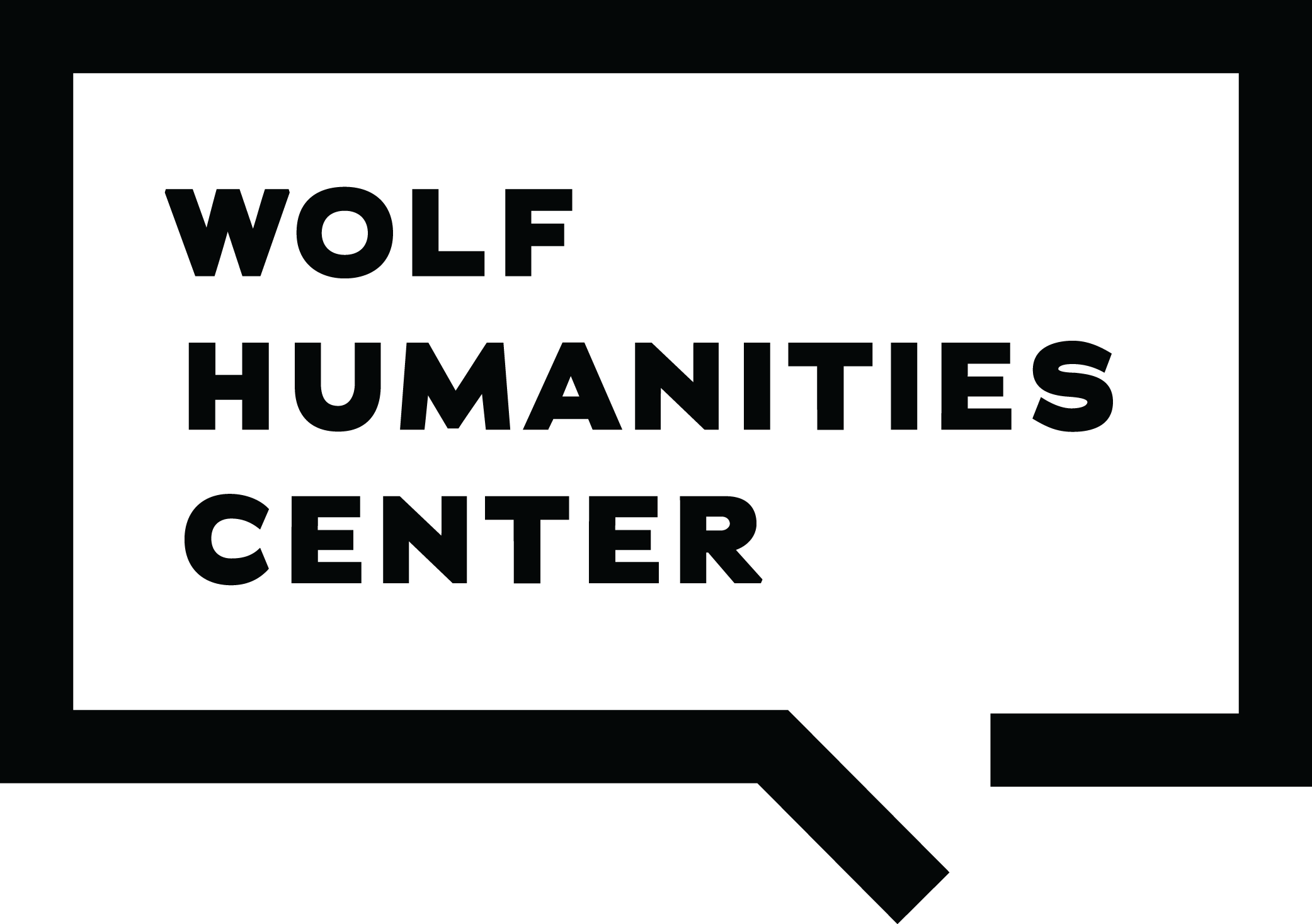 Wolf Humanities Center logo