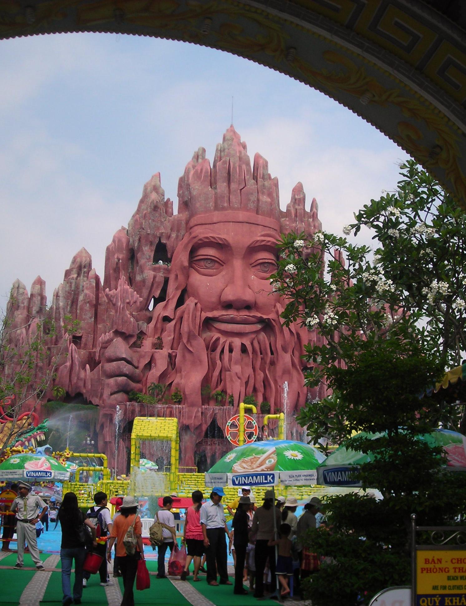 Buddhist theme park
