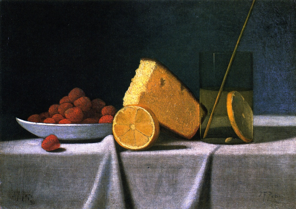 A Still Life of Fruits and Cheeses