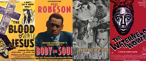 Posters for Race Film Series