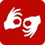 ASL interpretation logo