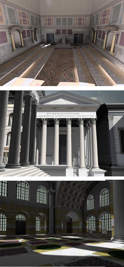Modern and Historic Roman Architecture