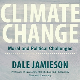 Dale Jamieson_Climate Change_Poster
