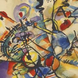 "Wassily Kandinsky, ""Ohne Titel (Untitled),"" 1916, held privately."
