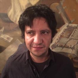 portrait of author Alejandro Zambra