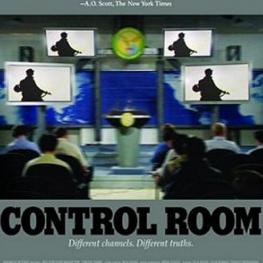 Event poster for Control Room (dir. Jehane Noujaim, 2004, 84 min.)