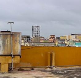 Rooftop in Kolkata, India
