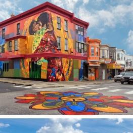 Philadelphia Mural Arts Program Mural