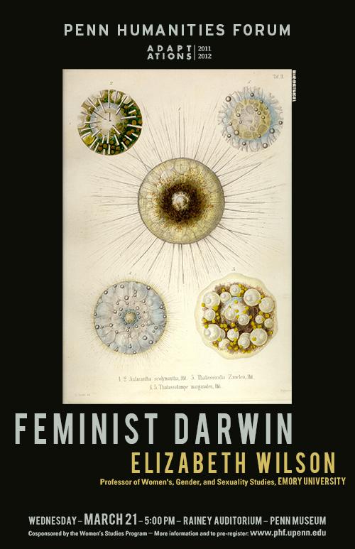 Poster for Feminist Darwin event